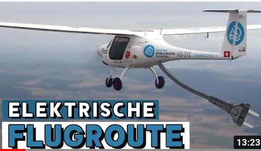 Vom WELTREKORD zur festen ROUTE – TESLA in die Luft – Mit Elektroflugzeug nach Berlin